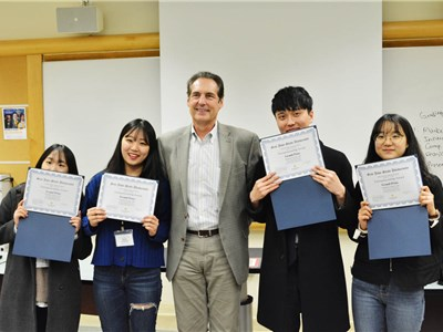 CNU Team Wins the First Prize in Silicon Valley