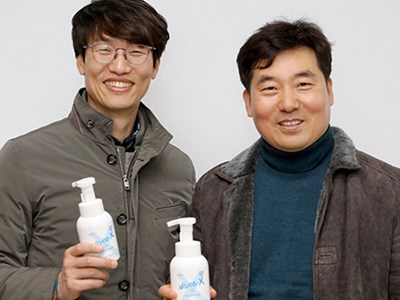 Hand Sanitizer Developed by CNU Research-based Affiliate Proven 99.9% Effe...